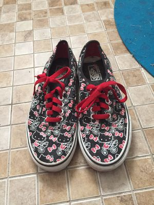 Hello Kitty Limited Edition Vans Sneakers for Sale in Cambridge, MA