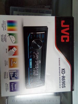 Jvc kdc-r690s for Sale in Las Vegas, NV