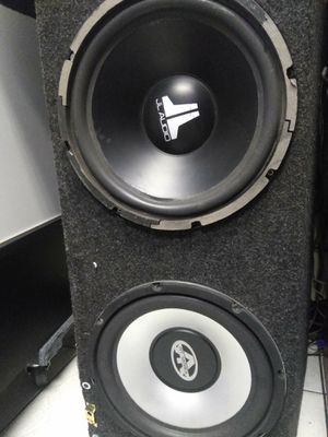 "12 ""speakers JL Audio and ART series for Sale in Dallas, TX"