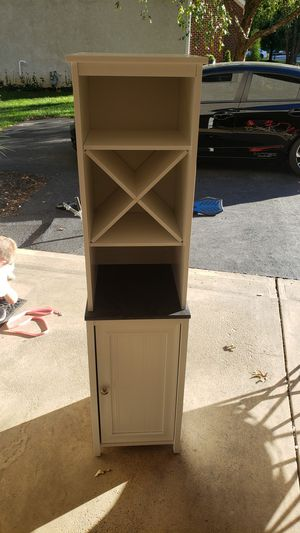 Nice cabinet and shelf combo for Sale in Westerville, OH