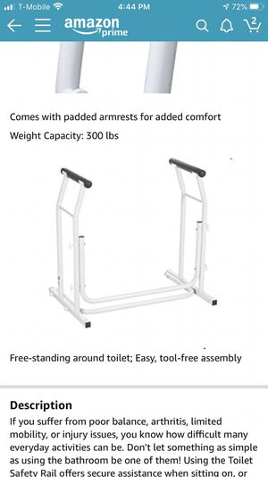 Brand new toilet safety rail for Sale in Tempe, AZ