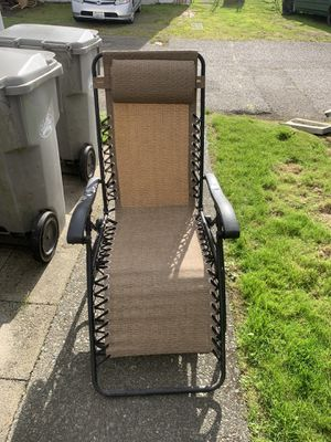 Outdoor Folding Chair/Lounges for Sale in Aberdeen, WA