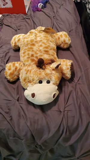 Will discount local buyer. Giant giraffe stuffed animal, have many more posted individually for Sale in Tamarac, FL