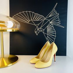 Christian Louboutin Yellow Pumps Heels 6 for Sale in Los Angeles,  CA
