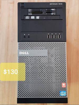 Dell Optiplex 7010 Desktop PC Computer i5-3470 quadcore 8GB RAM 256GB SSD + 500GB HDD PC Mini Tower Business Computer for Sale in Seattle, WA