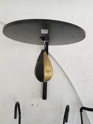 Everlast speed-bag with wall mount for Sale in Pompano Beach, FL