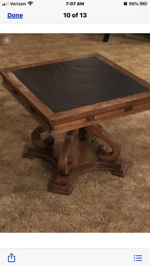 Antique coffee table and night stand for Sale in Verona, PA