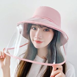 Removable face shield bucket hat (Pink) for Sale in Enola, PA