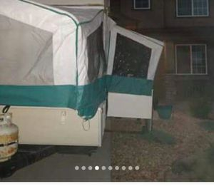 Pop up camper with slide out table/bed for Sale in Edgewater, CO