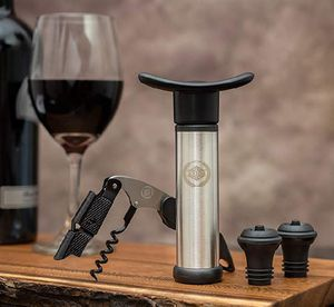 Firm Price! Brand New in a Box Wine Stoppers, Bottle Opener & Vacuum Wine Pump Set, Located in North Park for Pick Up or Shipping Only! for Sale in San Diego, CA