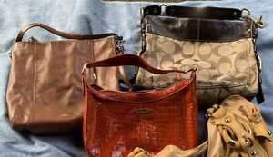 2 Coach Purses and 1 Cole Haan Purse for Sale in Auburn, WA