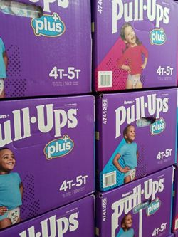 Huggies Pull Ups 4-5t/102 Counts Boy & Girl for Sale in Carson,  CA