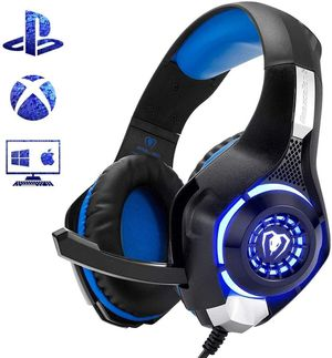 Beexcellent Gaming Headset GM-1 with Microphone for New Xbox 1 PS4 PC Cellphone Laptops Computer - Surround Sound, Noise Reduction Game Earphone-Easy for Sale in Marietta, GA