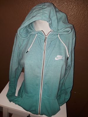 Women's Nike zip up hoodie size large gently used in excellent condition located in south Sacramento for Sale in Sacramento, CA
