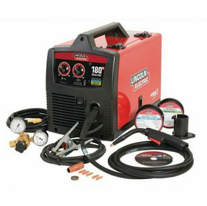 Lincoln Electric 180 Amp Weld-Pak 180 HD MIG Wire Feed Welder with Magnum 100L Gun, Gas Regulator, MIG and Flux-Cored Wire, 230V for Sale in Stickney, IL