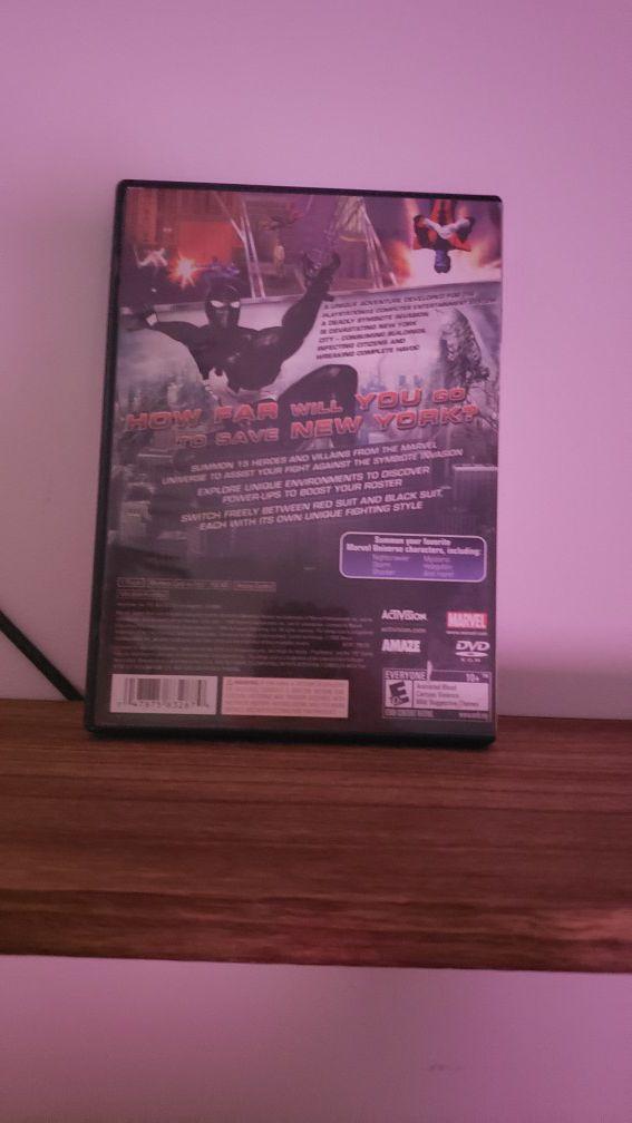 Spiderman Web of Shadows [PS2]