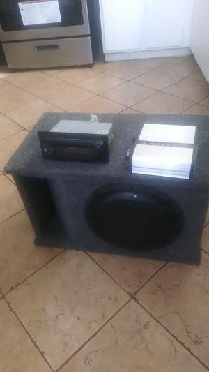 JL Audio bundle for Sale in Piedmont, CA