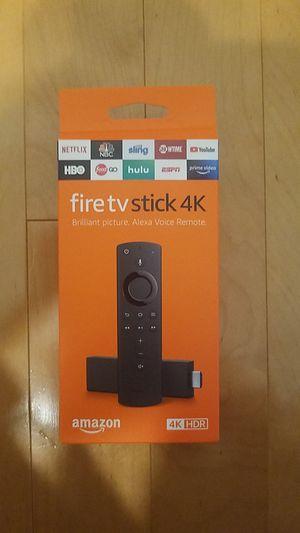 Amazon fire TV stick 4k smart for Sale in Palm Springs, FL
