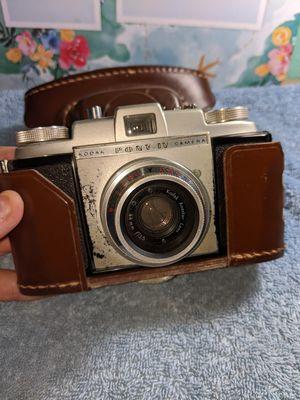 Vintage Kodak pony IV camera with leather case for Sale in Pasadena, TX