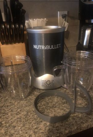 Nutribullet magic bullet for Sale in Seattle, WA