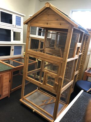 Bird cage parrot 🦜 toucan bird feeder pet animal space for Sale in CTY OF CMMRCE, CA