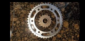 New Honda front and rear sprocket for Sale in Highland, CA
