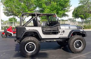 Custom Jeep wrangler with 350 small block many extras for Sale in Orlando, FL