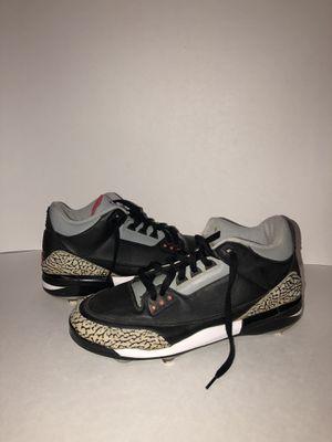 Jordan 3 cleats size 12 for Sale in Yakima, WA