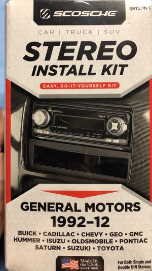 Stereo install kit/Stereo connector for Sale in Independence, IA