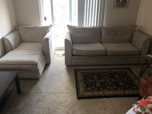 Klaussner Furniture Couch With Love Seat for Sale in Fairfax, VA