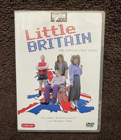 Little Britain - The Complete First Series DVD 2005 2 Disc Set for Sale in Chapel Hill,  NC