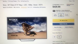 48 inch Sony TV for Sale in Chicago, IL
