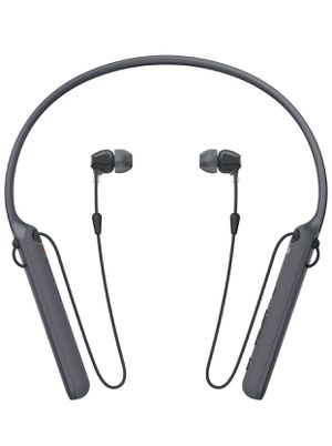 Sony - C400 Wireless Behind-Neck in Ear Headphone Black (WIC400/B) for Sale in Vernon, CA