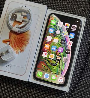 """iPhone XS Max """"Factory+iCloud Unlocked Condition Excellent"""" (Like Almost New) for Sale in Springfield, VA"""