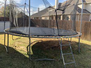 Skywalker 15 trampoline with sprinkler for Sale in Denton, TX