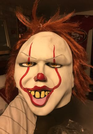 Pennywise IT mask for Sale in Sacramento, CA