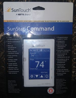 SUNTOUCH SUNSTAT COMMAND THERMOSTAT for Sale in Portland, OR