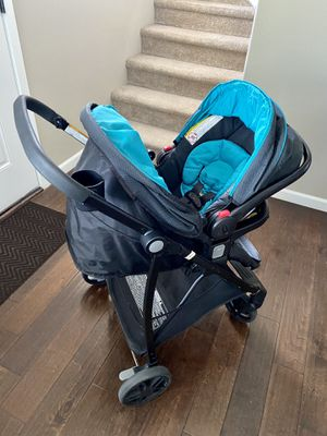Graco baby stroller with car seat and base for Sale in Vancouver, WA
