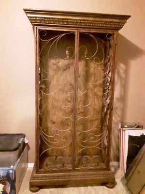 Ornate Display Cabinet for Sale in Fountain, CO
