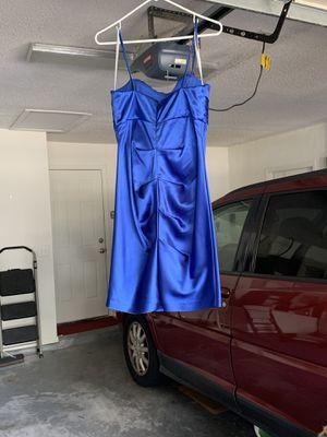 Royal blue dress for Sale in Tarpon Springs, FL