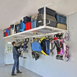 2 Overhead Garage Storage SafeRack Gray Or White for Sale in Brooklyn,  NY
