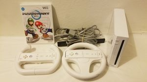 Nintendo Wii Console Complete with Mario Kart for Sale in Fresno, CA