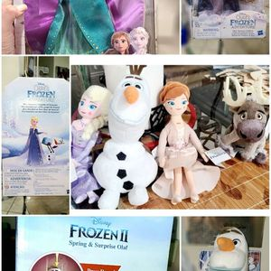 Several Frozen Dolls And Plushes for Sale in Spring, TX