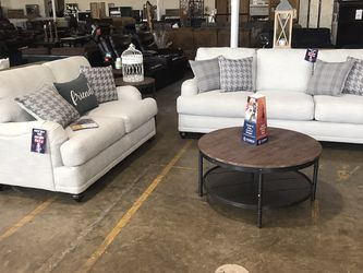 Beautiful Light Grey Love Seat And Sofa Set!! Take It Home Today!! $49 Down!! for Sale in Dallas,  TX