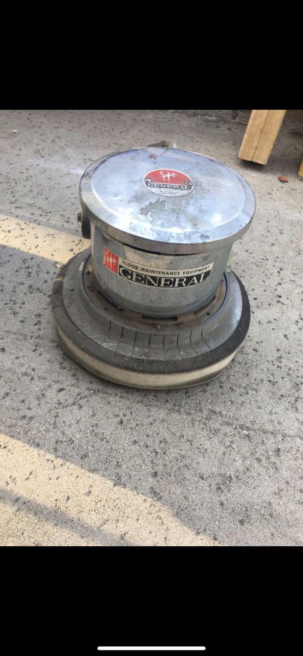 Professional floor scrubber extra head unit