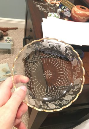 Antique Cut Glass Dish for Sale in Boca Raton, FL