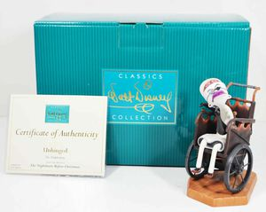 WDCC Disney The Nightmare Before Christmas Dr. Finklestein Unhinged Figurine for Sale in Kent, WA