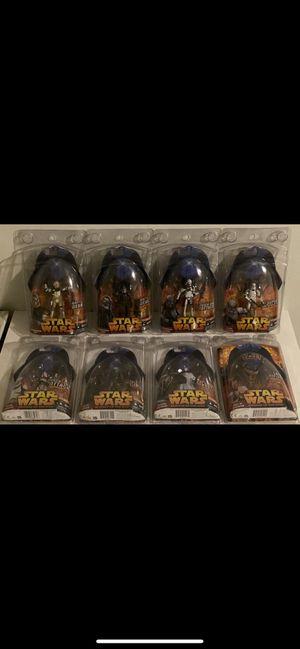 Star Wars ROTS Action Figure Lot for Sale in San Bernardino, CA