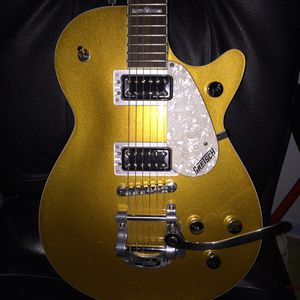 Gretsch G5438T w/ Bigsby tailpiece, goldtop electric guitar for Sale in Dallas, TX