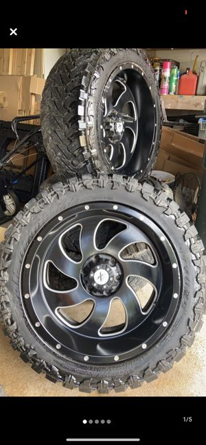 Rims and tires 20 inch for Sale in Austin, TX